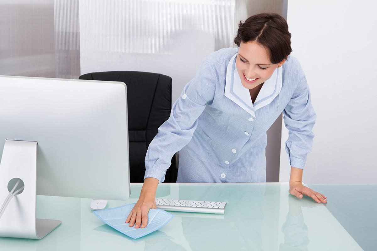 Úklid domácností a kanceláří