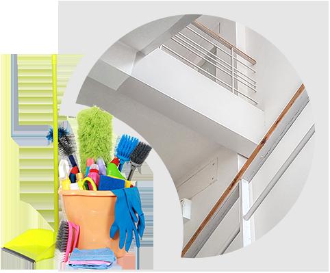 Úklid společných prostor bytových domů
